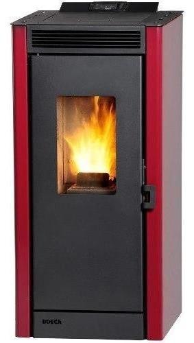 Calefactor Pellet 8,3kw Ecosmart Burdeo. Bosca