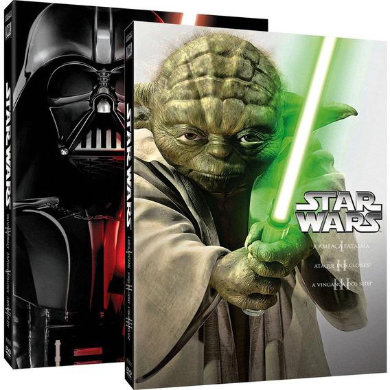 Star Wars - Guerra Nas Estrelas - Box Coleção 6 Dvds Lacrado