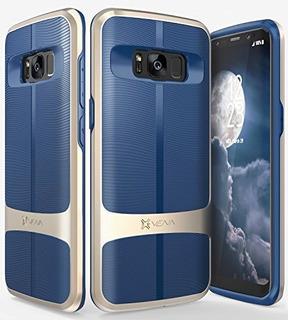 Galaxy S8 Funda Vena Vallure Wave Textura Parachoques Framec