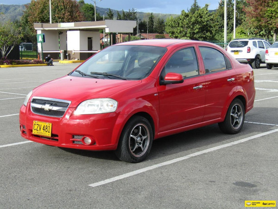 Chevrolet Aveo Emotion Mt 1600cc Aa