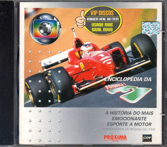 Cd Enciclopédia Da Formula 1 Reginaldo Leme Estado Novo