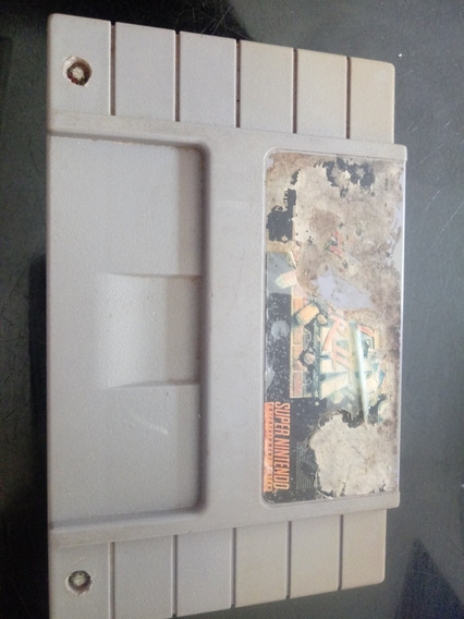 Jogo Super Street Fighter 2 Original P/ Super Nintendo Snes