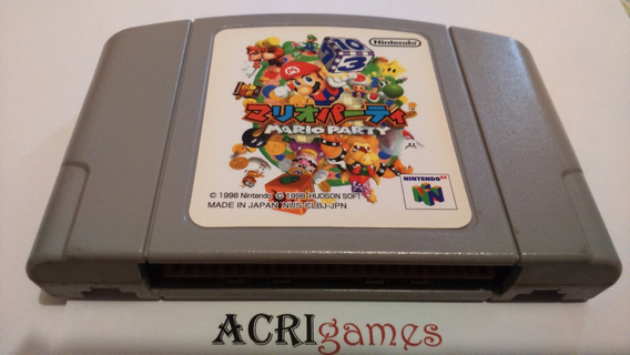 Mario Party + Mickey Speedy N64 Originais Versão Japonesa!!!