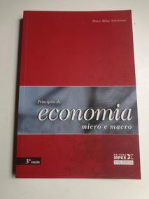 Livro Principios De Economia Micro E Macro Flavio Ribas Tebc