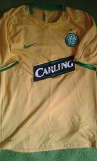 Camisa Celtic Escócia Samaras