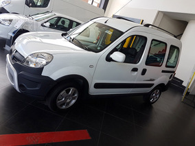 Renault Kangoo Authentique 5p 0km Anticipo, Cuota Burdeos 1