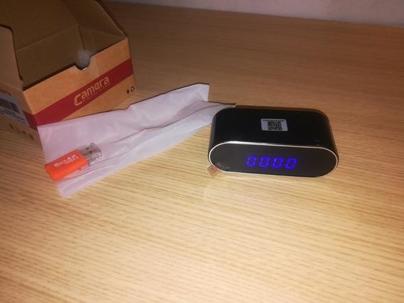 Camara Espia Oculta Reloj Ip Wifi Bateria Interna Memoria Sd