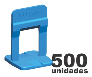 Espaçador Nivelador Slim 1.0mm Porcelanato Cortag 500 Pçs