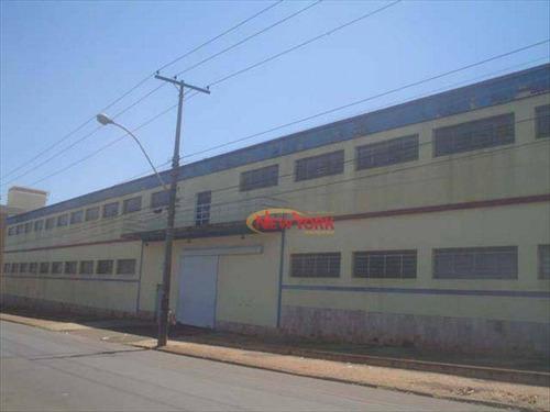 Barracão Industrial À Venda, Vila Monteiro (gleba I), São Carlos. - Ba0001
