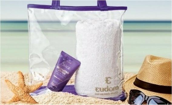 Bolsa Praia Transparente Eudora