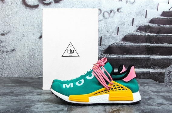 adidas Nmd Hu Cloud Mood X Pharrell Williams Verde