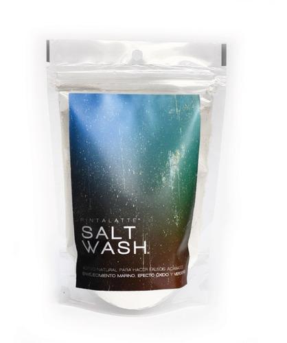 Imagen 1 de 2 de Pintalatte Salt Wash - Envejecimiento Marino Y Efecto Óxido