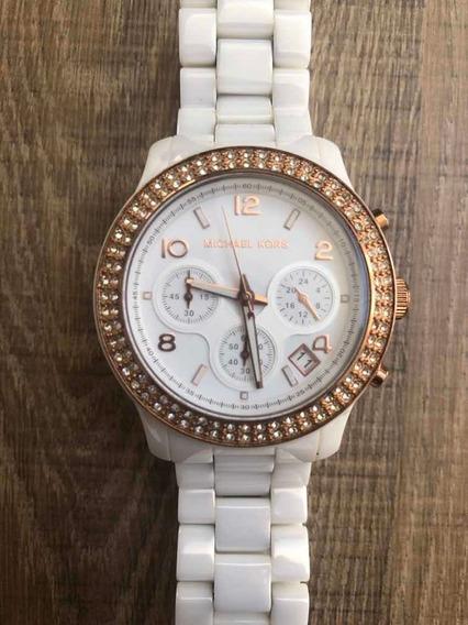 Relógio Luxo Michael Kors Mk5269 Ceramic