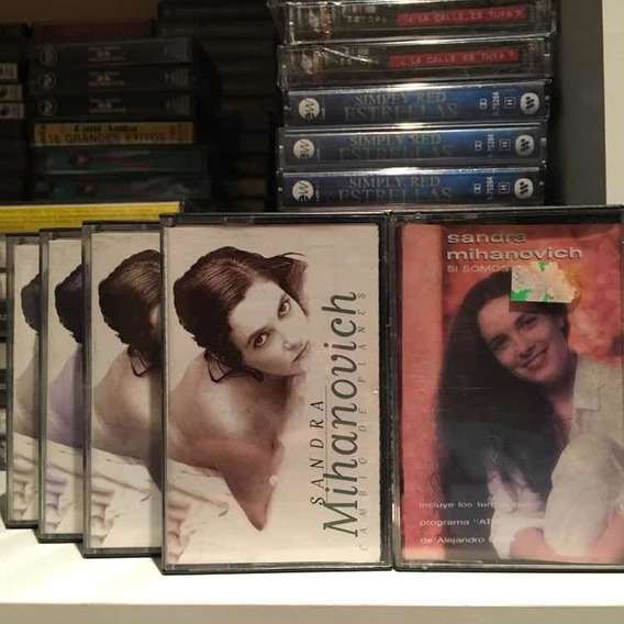 Sandra Mihanovich Cassettes Nuevos