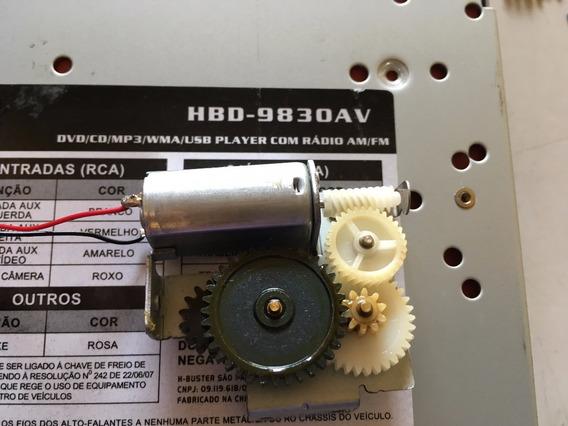 Engrenagens Motor 100% Original Da Tela H-buster Hbd-9830av