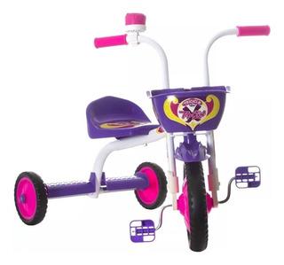 Triciclo 3 Rodas Velotrol Bicicleta Motoca Meninos E Meninas