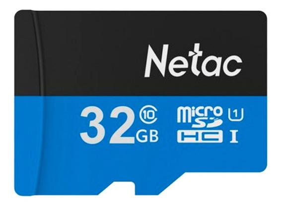 Cartão Memória Microsd 32gb 80mb/s Netac