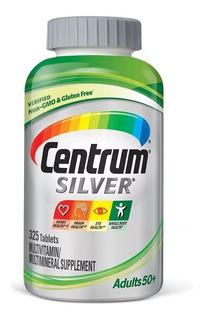Centrum Silver Adult + 50, 325 Caps-importado Usa