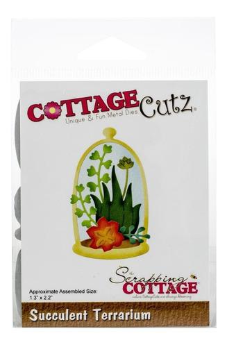 Imagem 1 de 1 de Cottagecutz Dies Succulent Terrarium