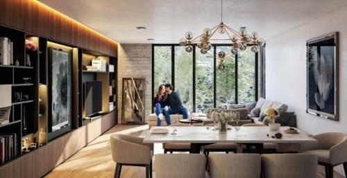 Polanco, Preciosos E Iluminados Garden House En La Zona Más Exclusiva