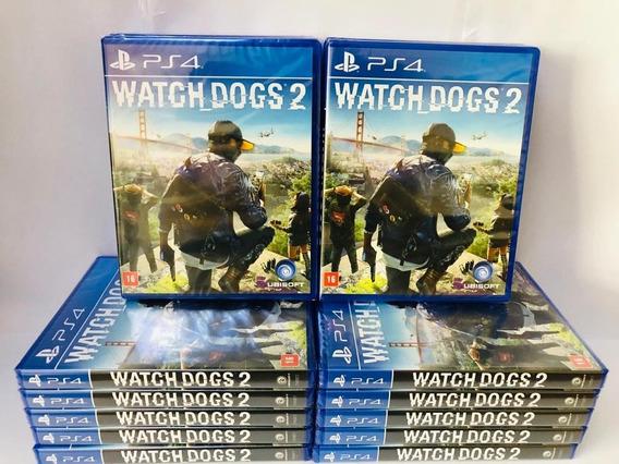 Watch Dogs 2 Ps4 Mídia Física - Original Entrega Imediata