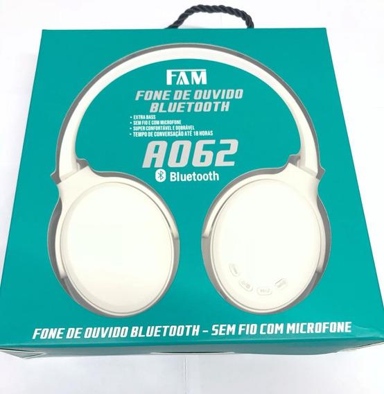 Fone De Ouvido Extra Bass Bluetooth Fam A062 Original