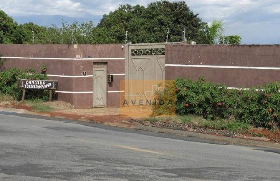 Chácara Residencial À Venda, Vila Fátima, Capivari. - Ch0097