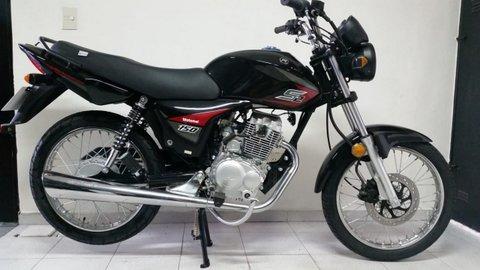 Imagen 1 de 15 de Motomel S2 Cg 150 Disco Full Negro 0km Stratus Ap Motos