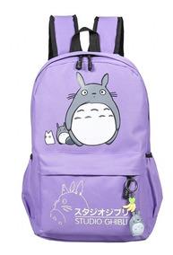 Mochila Escolar Anime Meu Vizinho Totoro Studio Ghibli