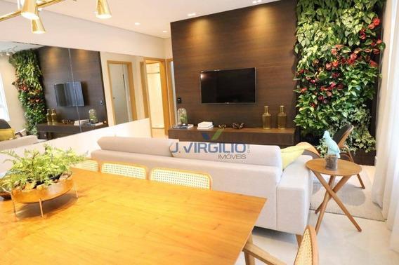 Apartamento De 3 Suítes À Venda, 115 M² Por R$ 650.000 - Setor Marista - Goiânia/go - Ap0535