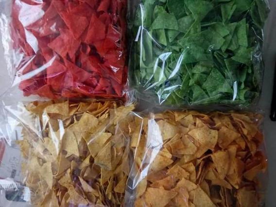 Nachos De 1kg, De Sabores Y Colores