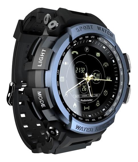 Reloj Inteligentee Lokmat Impermeable Hombre Negro Android