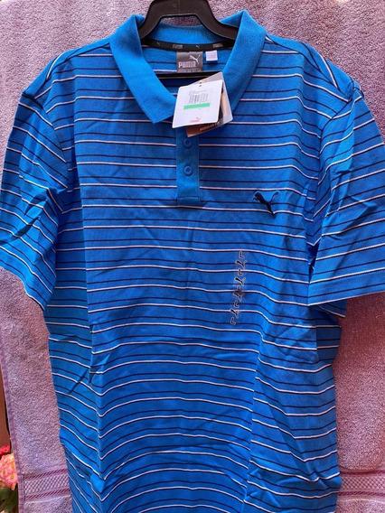 Playeras Puma Para Golf Líneas Varios Colores Y Tallas