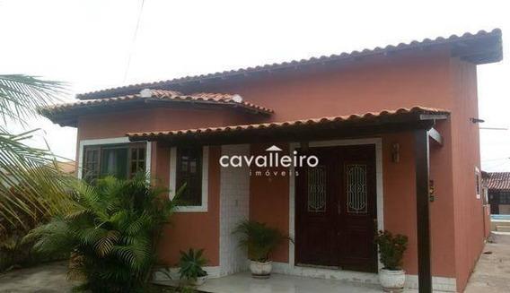 Linda Casa Ao Lado Da Rodoviária De Itaipuaçu! - Ca4047