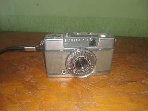 Câmera Fotográfica Olympus Pen Ee-2 Antiguidade Funcionando.