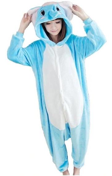 Elefante Pijama Mameluco Disfraz Polar Máxima Calidad