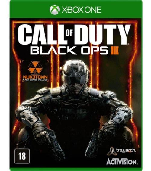 Call Of Duty Black Ops 3 Xbox One Midia Fisica Em Inglês