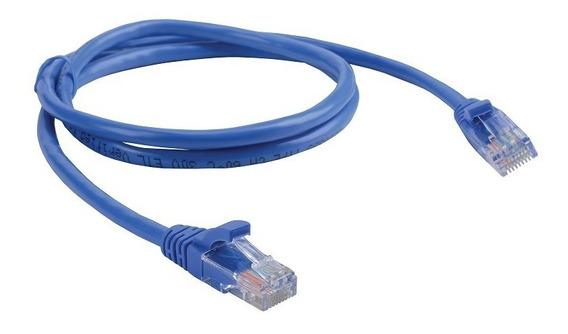 Cable Red Armado Pach Cord Categoría 6 Gigalan 10mt Capuchon