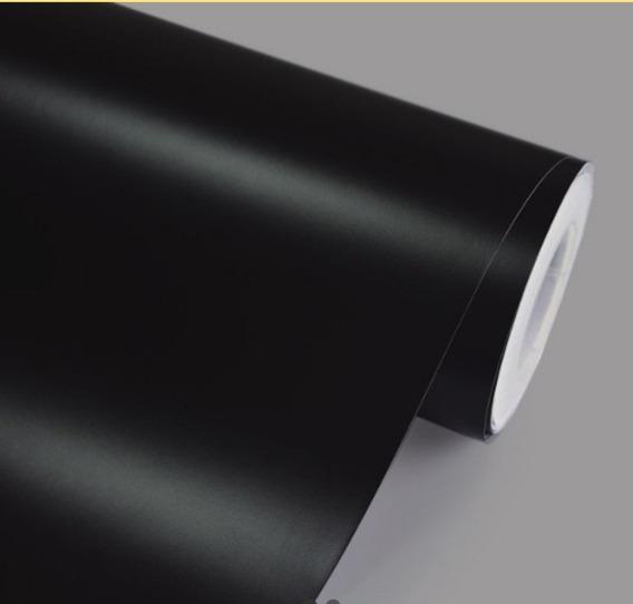 Envelopamento De Carro Preto Fosco Teto Ou Capo 2m X 1,22m