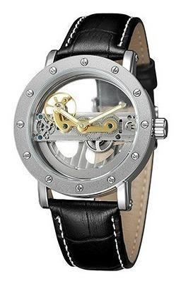 Relógio Esqueleto Automático Forsining + Caixa + Rel. South