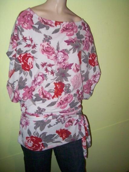 Sweater / Chaleco Tipo Lanilla Con Lazo T.l Aprox Adaptable