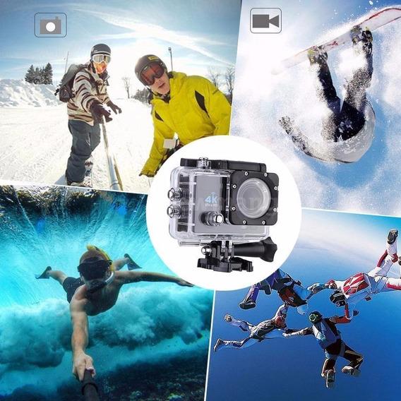 Wifi Câmera Capacete Esporte Mergulho Hd 1080p 4k