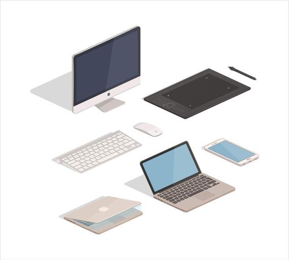 Pack Vectores Informática - Tecnología