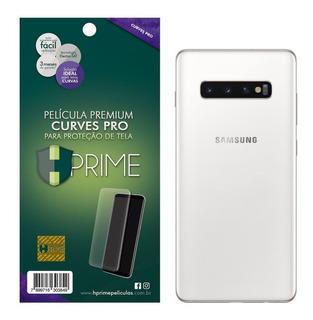 Película Hprime Curves Pro Traseira Verso Galaxy S10 Plus