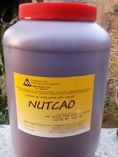 Nutcao Crema De Avellanas Con Cacao