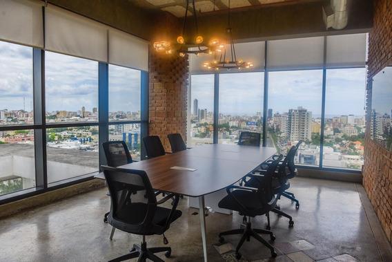 Espectacular Oficina Corporativa En Alquiler, El Millon