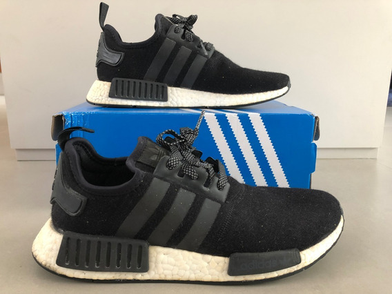 adidas Nmd R1 Boost Whool 3m Reflective Core Black/white