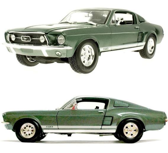 Ford Mustang Gta 1967 Fastback 1/18 Auto Clásico Maisto