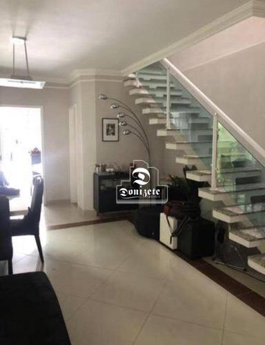 Casa À Venda, 125 M² Por R$ 720.000,00 - Jardim Milena - Santo André/sp - Ca0902