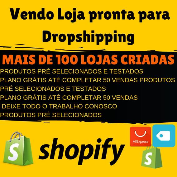 Loja Shopify Pronta - Entrega Rápida